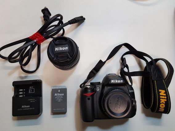Câmera Nikon D3000 Dslr