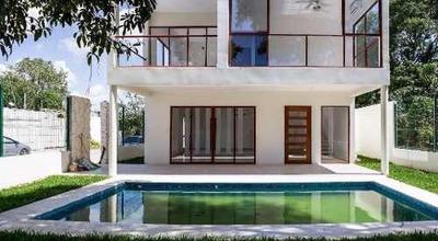 Casa En Renta En Bugambilias, Playa Del Carmen