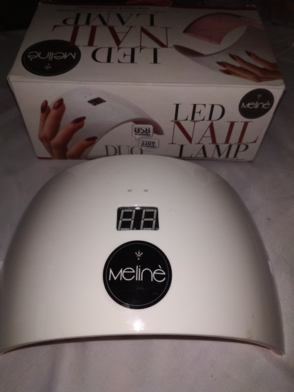 Cabina Led Lamp Meline Duo Con Timer Digital Caja Poco Uso
