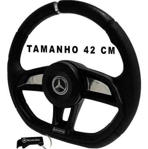 Volante De Caminhão Mb Mercedes Benz Mb 1318 Gti Black 42cm