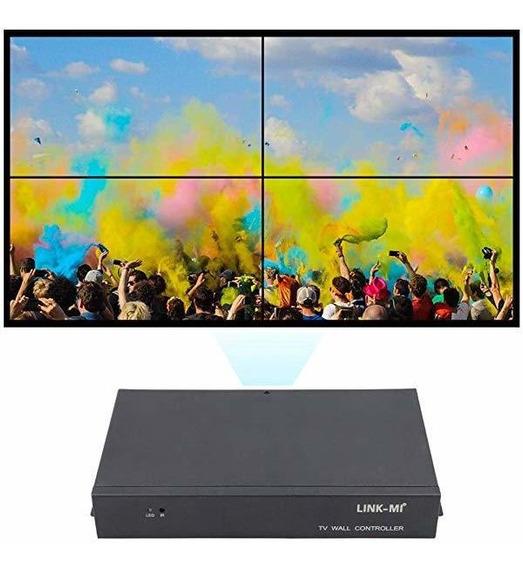Link-mi Tv04 2x2 Video Wall Controlador Usb+hdmi+vga+av Tv ®