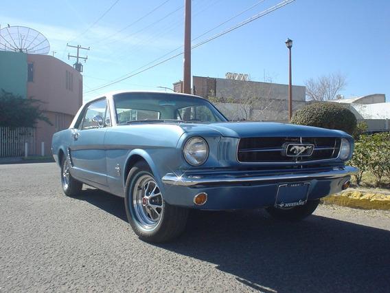 Ford Mustang 1964 1/2 (primera Edicion Antes De 1965)
