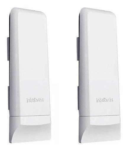 Kit Duas Antena Para Internet Via Rádio 5.8 Intelbras