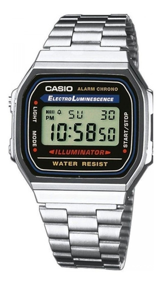 Relógio Casio Vintage A-168wa-1 Original