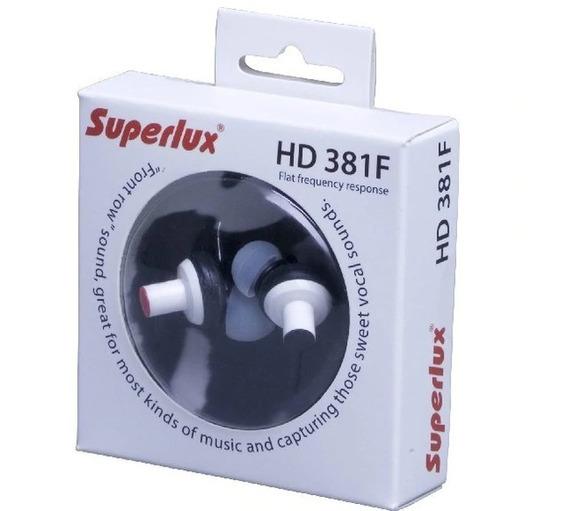Fone Superlux Hd381f