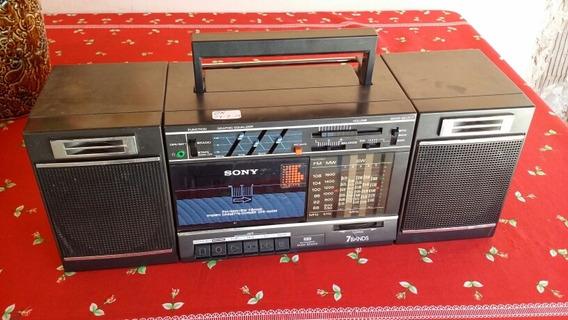 Rádio Gravador 7 Faixas Sony Stereo