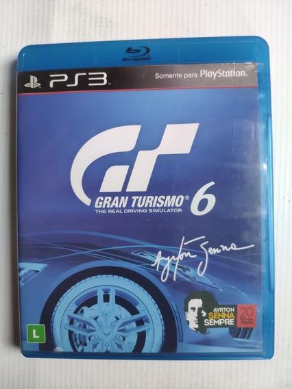 Gran Turismo 6 Ps3 Midia Física Semi Novo