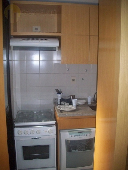 Flat Para Aluguel, 1 Dormitórios, Moema - São Paulo - 247