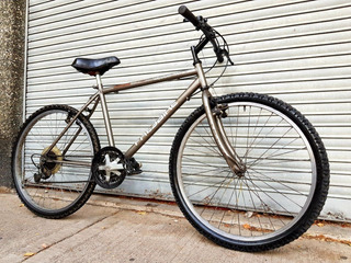 Mountain Bike Freebike Rodado 26 Gris 6 Cambios Buen Estado.
