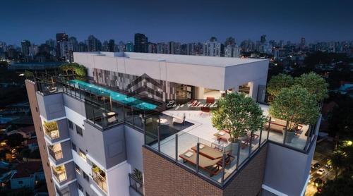 Apartamento Para Venda Em São Paulo, Moema, 2 Dormitórios, 1 Suíte - 10615_1-1365763
