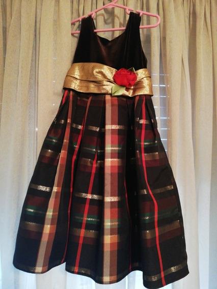 Vestido De Fiesta Importado Talle 5 Años