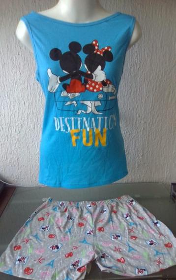 Venta Por Mayoreo (12 Prendas) Pijama Dama Y Niña