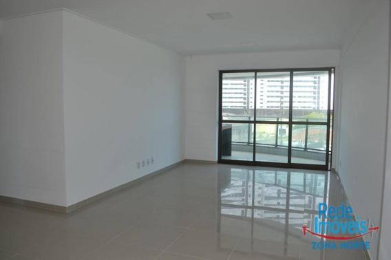 Apartamento Com 3 Dormitórios Para Alugar, 121 M² Por R$ 3.800,00/mês - Santo Amaro - Recife/pe - Ap10082
