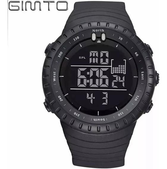 Relógio De Pulso Digital + Fone Bluetooth