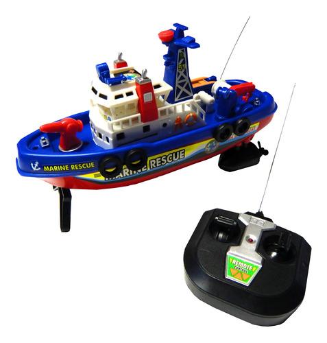 Barco Bomberos 4 Funciones De Juguete