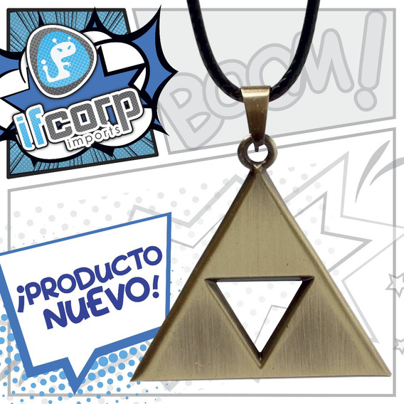 Collar The Legend Of Zelda Triforce Trifuerza Link Ocarina