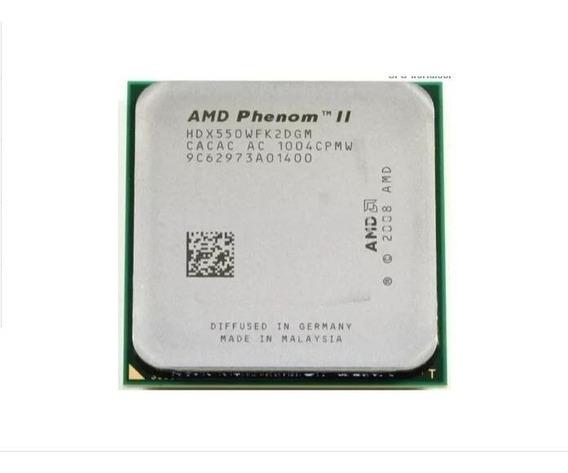 Processador Hd550 Phenom Ii X2 Black Edition 3100 Am2 Am3+
