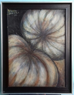 Obra De Arte. Franco Peñalba. 48x65cm. Año 88. U$ 1,000.