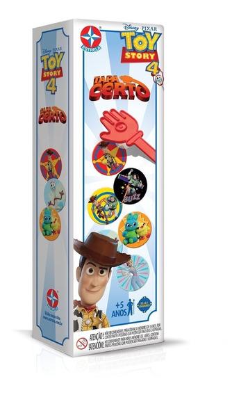 Brinquedo Infantil Tapa Certo Toy Story 4 Disney Pixar