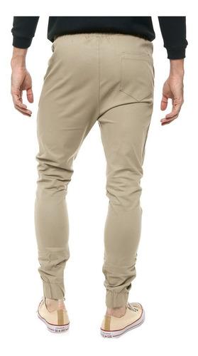 Envio Gratis Pantalon De Gabardina Jogger Hombre Indumentariahl