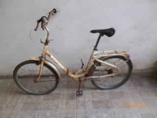 Bicicleta Olmo Plegable Rodado 24