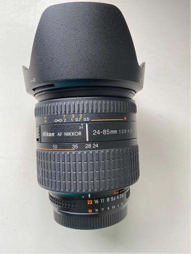 Lente Nikon Nikkor 24-85mm 2.8-4.0 C/ Filtro Protetor