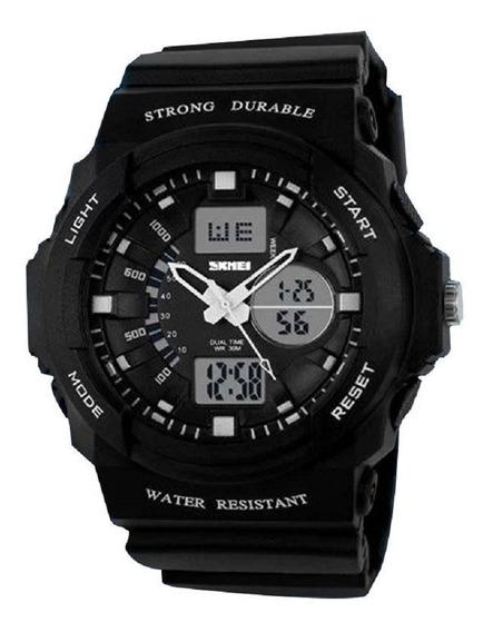 Relógio Masculino Skmei Anadigital 0955 Preto