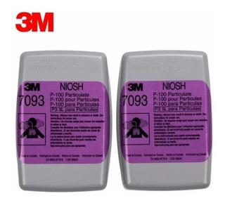 Filtro Alta Eficiencia P/particulas P100 7093b 3m Pk 4 Pzas