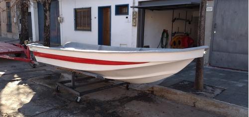 Lancha Modelo Mulita 455 Plus (nuevo Modelo Mas Ancho)
