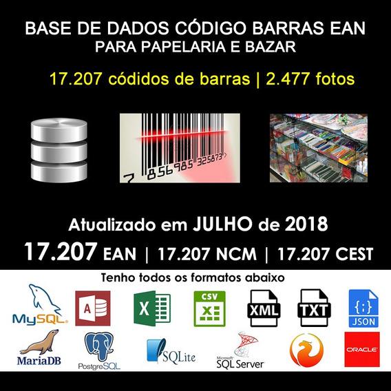 Banco De Dados Ean Para Papelaria Com Fotos