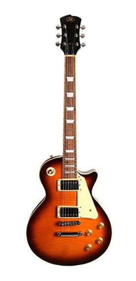 Guitarra Sx Les Paul Série Ef3 Twr Tobacco Red - Gt0024
