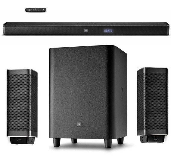 Jbl Bar 5.1 Sound Bar Home Theater Sem Fio Original Jbl+nf