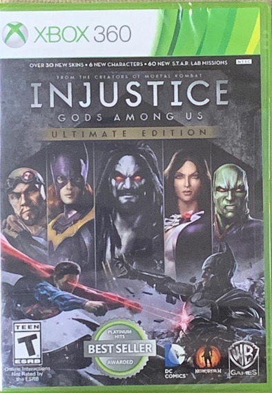Jogo Injustice Gods Among Us Ultimate Edition Xbox 360