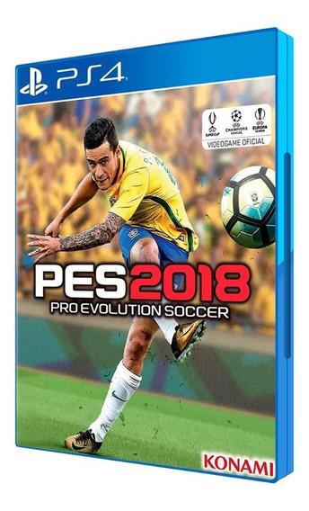 Game Pro Evolution Soccer 2018 - Playstation 4 Mídia Física