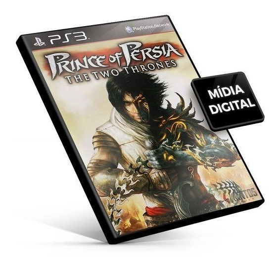 Prince Of Persia The Two Thrones Hd Ps3 - Mídia Digital
