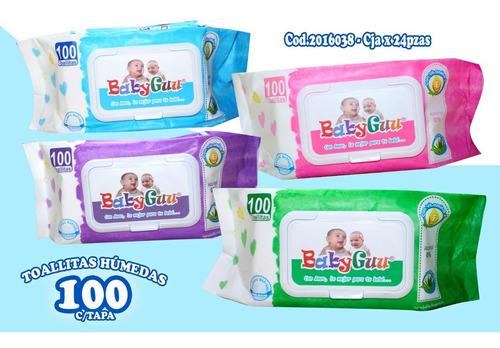 Pañitos Humedos Baby Gu X 3 Paquetes