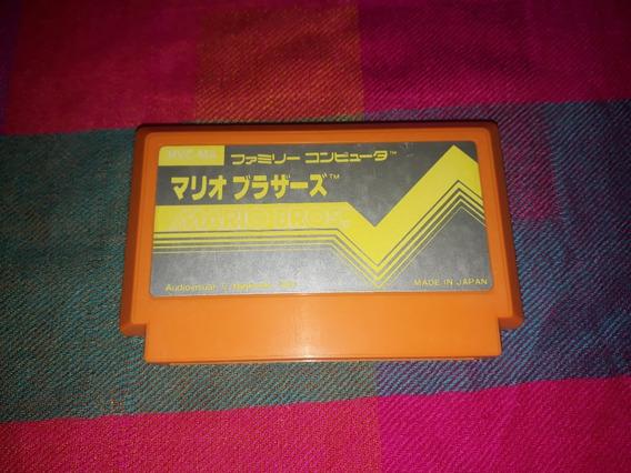 Cartucho Mario Bros. Original Famicom Nes 60 Pinos Japonês