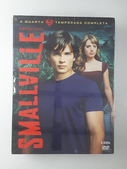 Box Dvd Smallville 4 Temporada Original Lacrado