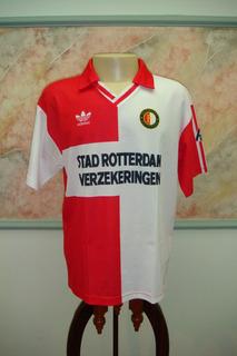 Camisa Futebol Feyenoord Holanda adidas Antiga 375
