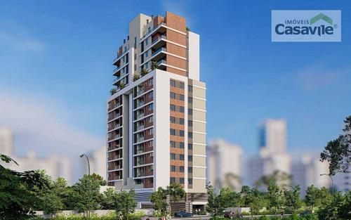 Imagem 1 de 18 de Apartamento Com 3 Dormitórios À Venda, 94 M² Por R$ 790.745,65 - Bacacheri - Curitiba/pr - Ap0533