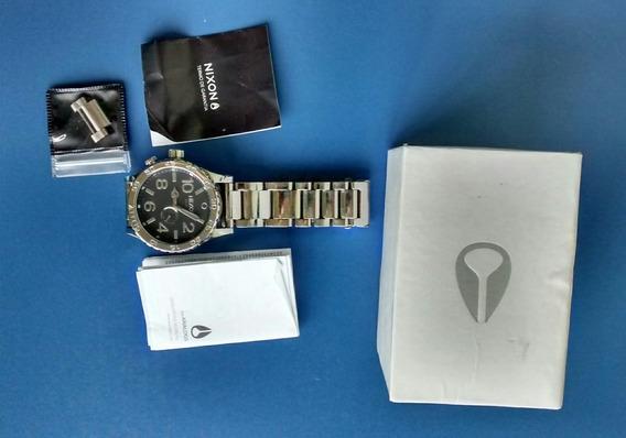 Relógios Nixon - Cromado 100% Original
