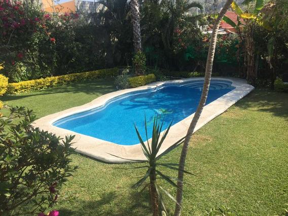 Renta Casa En Cuernavaca. Costo Por Todo El Fin De Semana