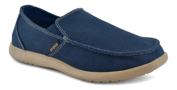 Mocasin Alpargata Hombre Crocs Santa Cruz Clean Cut Navy