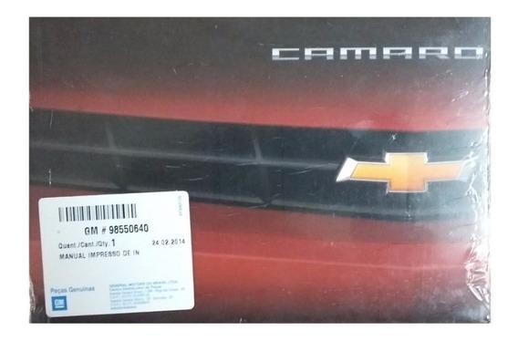Manual Do Proprietario Camaro - 98550640
