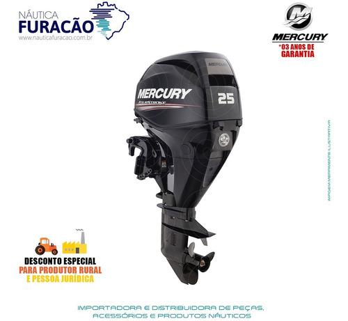 Motor De Popa Mercury 4 Tempos 25hp M Efi