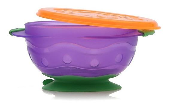 Bowl Con Sopapa Mediano Para Bebés Baby Innovation 6m+