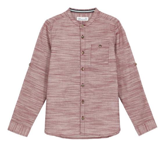 Camisa Cuello Mao Con Bolsillo De Niños C&a 1057022