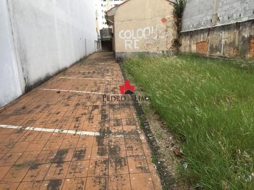 Terreno Tatuapé 350 M2, Rua Movimentada 7x50 - Tp14725