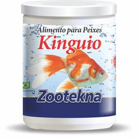 Alimento Premum Para Peixe Kinguio - 10 G