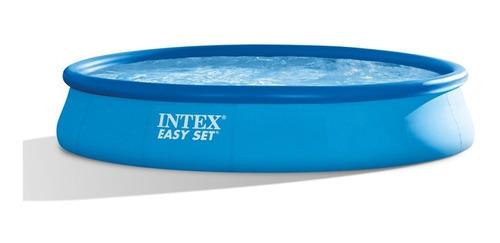 Piscina Intex Inflable Easy Set 28158 Incluye Bomba Filtro